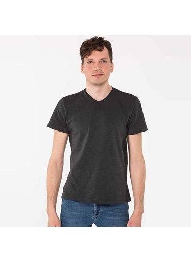 Slazenger Slazenger CARLO Erkek T-Shirt K. Gri
